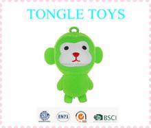 9-inch 2015 new design big monkey puffer ball Kids flashing toy for fun