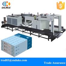 Factory Hot Sale Full Automatic DKHHJX-800-1600 Servo Motor Control Paper Roll To Sheet Cutting Machine / Sheet Cutting Machine