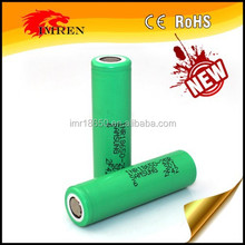 Best selling & Wholesale Authentic green Samsung 25R 18650 samsung inr18650-25r 2500mah and 18650 high drain battery