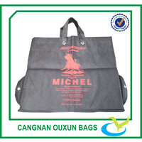 Hottest eco friendly foldable non woven bag with eyelets