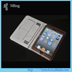 leather case cover for ipad mini case/for ipad mini 3
