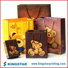 wholesale custom recycled paper carry bag