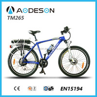 china supplier's electric motorcycle, city electric bicycle/bike TM265