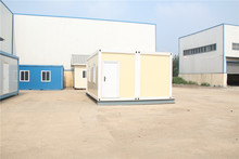 economical decorated light cheap light steel structure house for workers dormitory and office