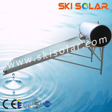 2015 CE approval solar power system Compact Integrative Pressurized Flat Plate Solar Collector Solar Water Heater