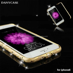 unique cell phone accessories for iphone 6plus, wholesale luxury for iphone 6 case metal bumper