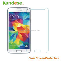 Hot Selling Clear Tempered Glass Screen Protector For Samsung Galaxy S5 Screen Protector