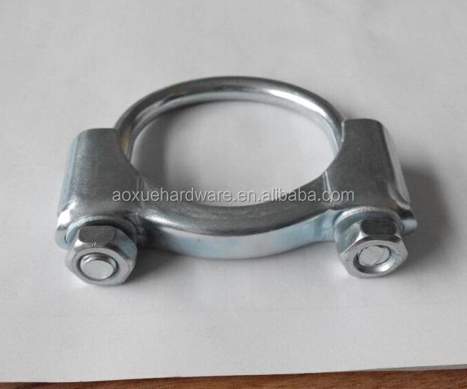 Galvanized pipe clamp metal u bolt nut buy