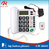 High quality wholesale cordless hotel telephone/guestroom phone from factory