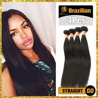 6A Grade 27 inch Natural Color Brazilian Virgin Hair Silky Straight Wave Xuchang Human Hair Factory Wholesale 8-32 Inch