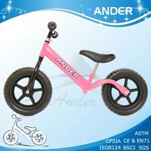 popular kids walker bike/kids running bike /kid training bicycle with CE,EN71,ISO8124,SGS