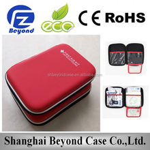 Portable First aid case medical EVA case medical carrying cases EVA case with handle