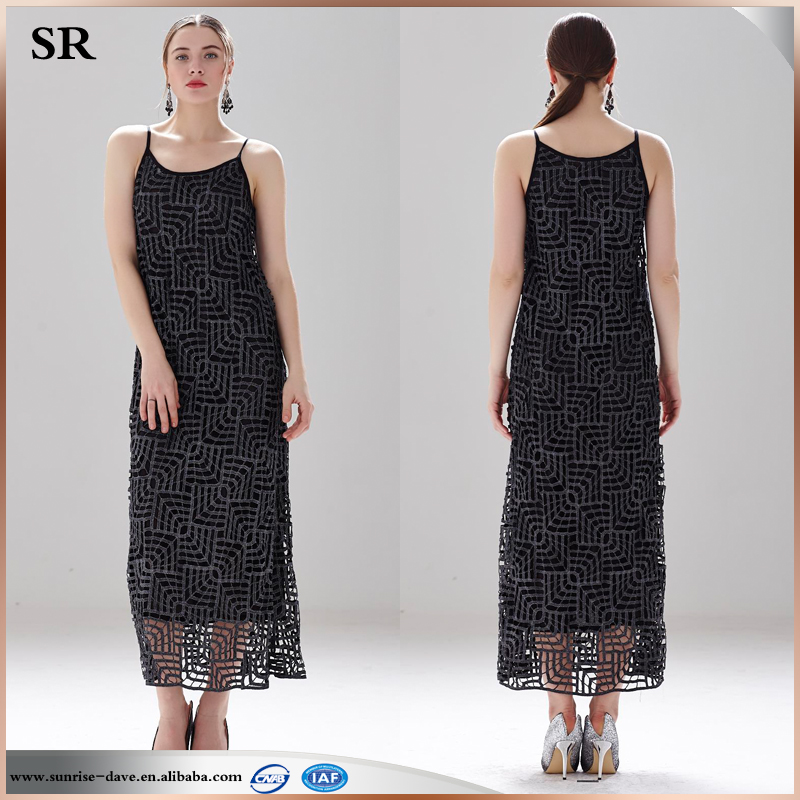 Free Knitting Pattern Ladies Dress : Fashion Crochet Knitting Dress Pattern Free Maxi Ladies Strapped Dress Sr-d97...