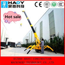 Hot sale hydraulic spider crane used in construction
