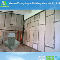 2015 Earthquake resistant building material waterproof lightweight prefabricated walls