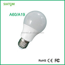 Ienergy Aluminum&PC 9w led bulb e27 AV 110/230V with CE/FCC/ROHS certificate with 2 years warranty of China origin