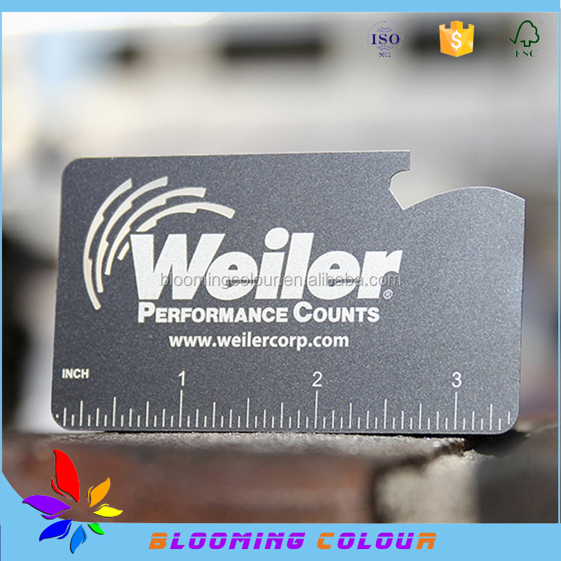 Qingdao manufacturer of metal business cardcustom made different 194g reheart Gallery