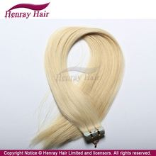 Grade 5A Wholesales Unprocessed Clear Band Tape Hair Extensions