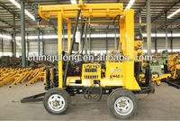 Full hydraulic trailer mounted portable XYX-3model water well drilling rig