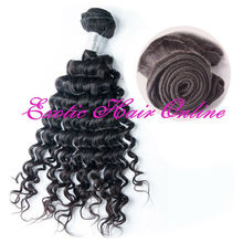 Exotichair 2 piece virgin hair lot cuticles on the same direction