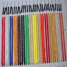 many color twisted handle rope for handbag