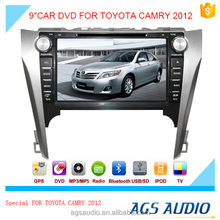 AGS special 9'' touch screen car dvd player for TOYOTA CAMRY 2012