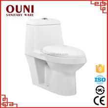 ON-805 Modern style bathroom energy saving ceramic washdown family toilet seat