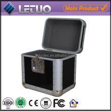 Aluminum hot new products for 2015 1000 cd dvd aluminum storage case aluminium metal flight case To Fit 80 CD's