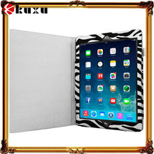 Black and white Zebra Folio Pouch Flip smart phone Case Cover for apple ipad air