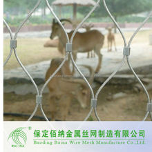 Animal Enclosure Wire Rope Zoo Mesh Fence