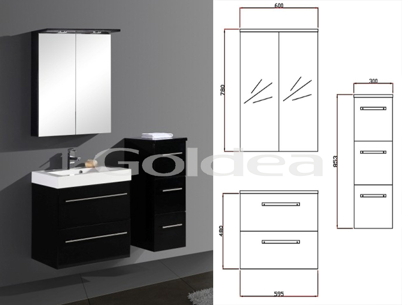 top china meubels thuis depot badkamer zwart opknoping, Badkamer