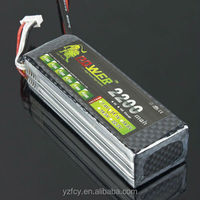 Mystery 11.1V 2200mah 30C Li-Polymer Battery Pack for 450 R/C Helicopters