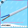 300/300V h03vvh2-f 2x0.75mm2 pvc insulated flat and flexible electric power cable