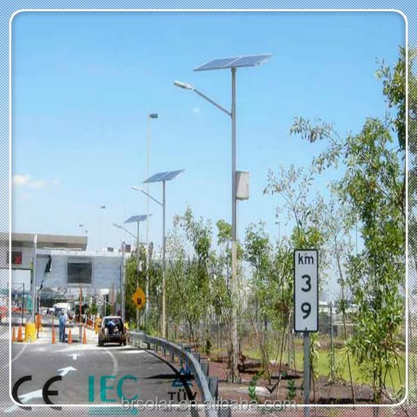 integrated solar parking lot lamp posts street light 80w parts. Black Bedroom Furniture Sets. Home Design Ideas