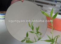 4mm Beveled /Round Silver Mirror
