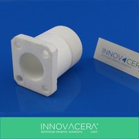Machinable Glass Ceramic/Bush/With M6 Screw Thread/INNOVACERA