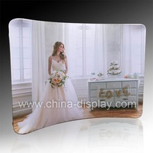 2015 most popular products 10feet straight curve wave backdrop wedding decoration