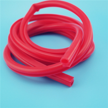 Alibaba china best selling red silicone vacuum tube