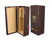 piano lacquered wooden wine case for luxury wine