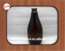 1000 ml amber beer glass bottle with big volum