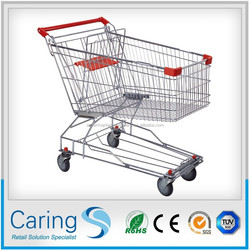 Asian TYPE superior quality shopping trolley/shopping cart (directly from factory)