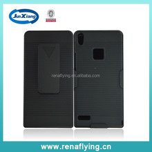 new product Kickstand belt clip case for huawei ascend p6