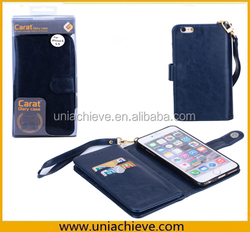 Hot Selling For iPhone6 wallet Case,For iPhone 6 Case PU Leather