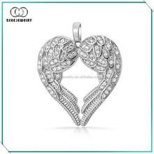 High Quality Vogue best friend heart pendant