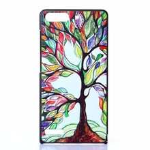 Many Styles Available Colorful Painting Phone Case Cover For Huawei Ascend P6