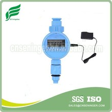 Irrigation water timer with power supply