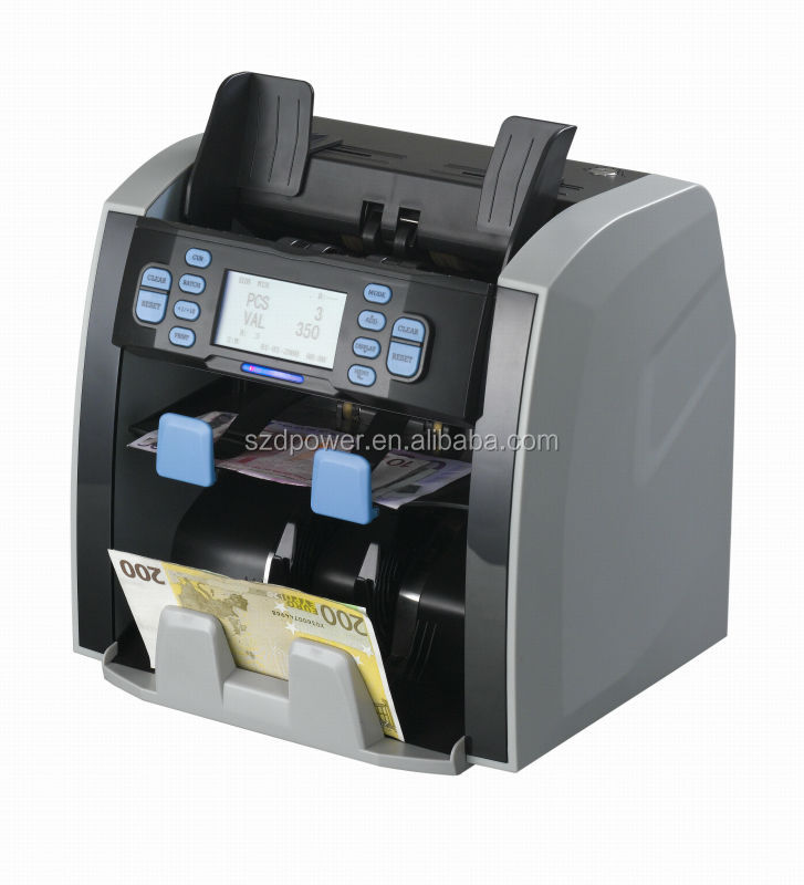 counting machine mixed bills