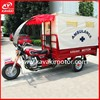 Kavaki Steet Motorcycle For Garbage Collection With Rear Waterproof Cabin From Weather