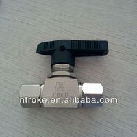 best sell medium pressure stainless steel mini ball valves from China