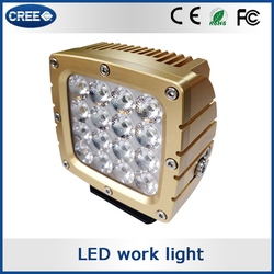 heavy duty 70w led driving light, 80w led working light, 90w led tuning light for Auto